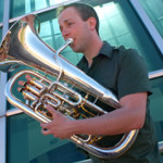 Euphonium Artist Chris Dickey.