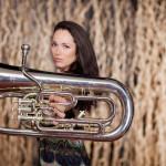 Lauren Veronie Curran Euphonium Artist.